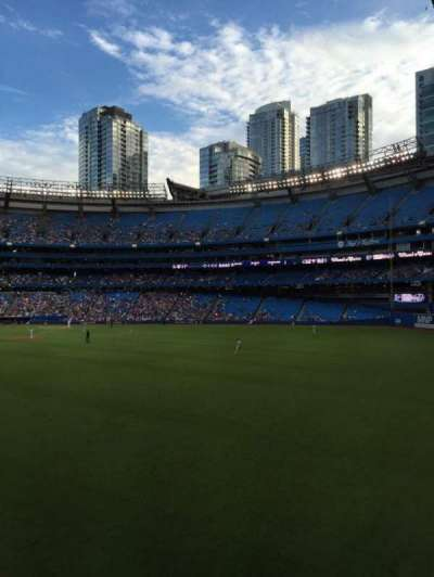 Rogers Centre, section: 104L, row: 1, seat: 105