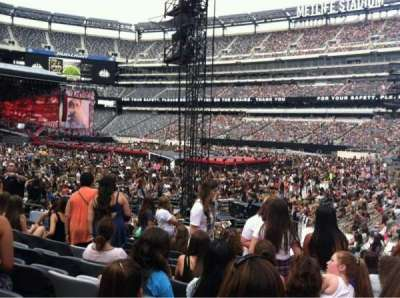 MetLife Stadium  section 134