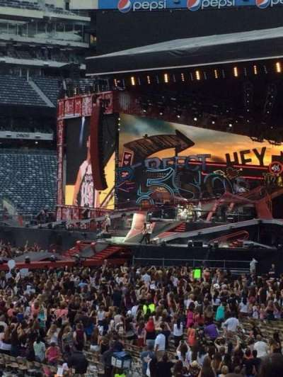 MetLife Stadium, section: 114, row: 14, seat: 12