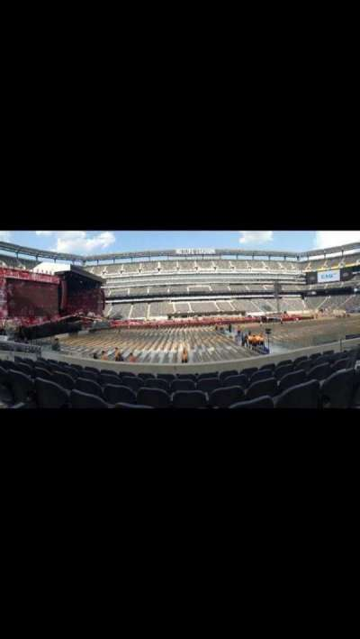 MetLife Stadium section 140