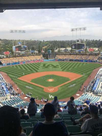 Dodger Stadium, section: 1RS, row: U, seat: 13