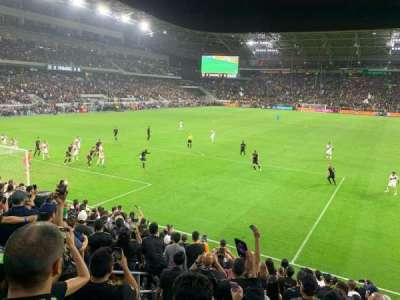 Banc of California Stadium, section: 120, row: M, seat: 19