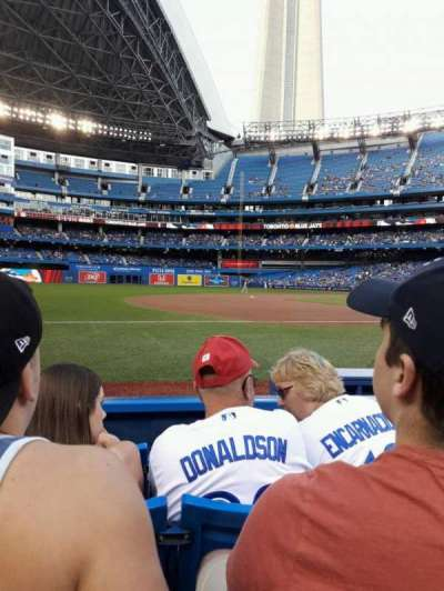Rogers Centre, section: 129R, row: 4, seat: 4
