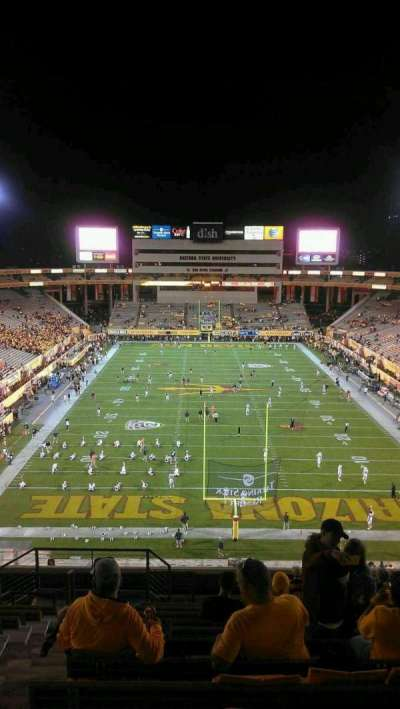 Sun Devil Stadium, section: 224, row: 15, seat: 18