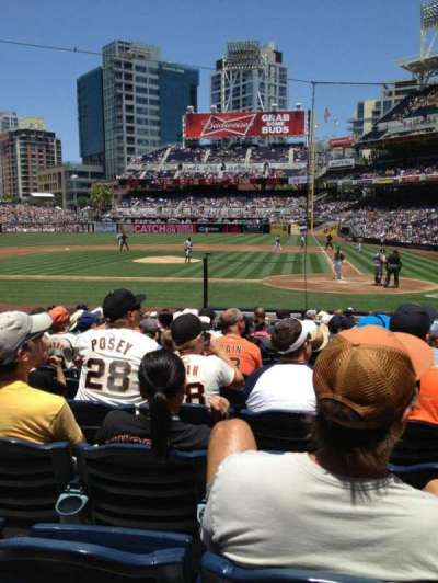 PETCO PARK section 106