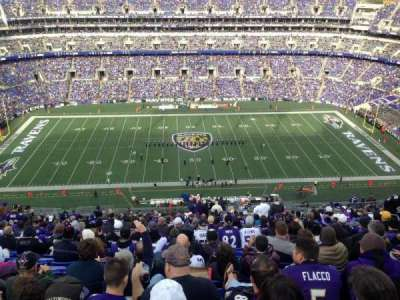M&T Bank Stadium, section: 527, row: 29, seat: 3-4