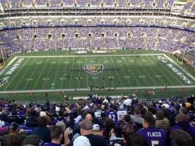 M&T Bank Stadium, section: 527, row: 29, seat: 3-4