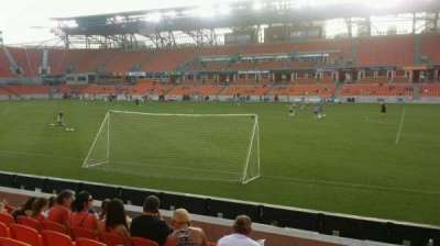 BBVA Compass Stadium, section: 124, row: g, seat: 1