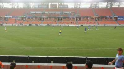 BBVA Compass Stadium, section: 125, row: f, seat: 10
