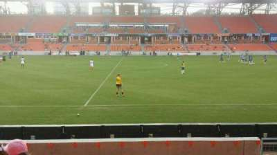 BBVA Compass Stadium, section: 126, row: g, seat: 6