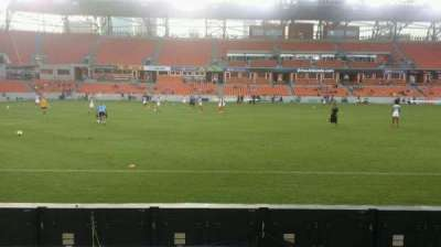 BBVA Compass Stadium, section: 128, row: c, seat: 1