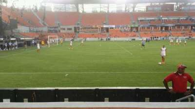 BBVA Compass Stadium, section: 129, row: d, seat: 4