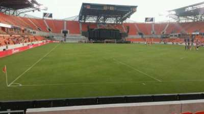 BBVA Compass Stadium, section: 117, row: g, seat: 26