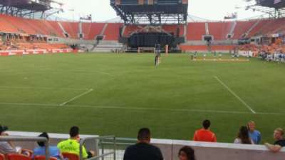 BBVA Compass Stadium, section: 114, row: g, seat: 27