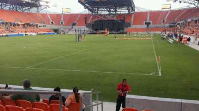 BBVA Compass Stadium, section: 113, row: g, seat: 25