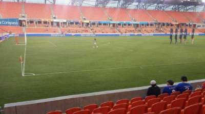 BBVA Compass Stadium, section: 109, row: g, seat: 28