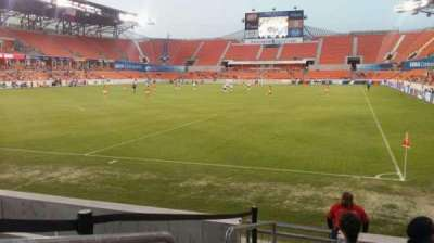 BBVA Compass Stadium, section: 133, row: f, seat: 17