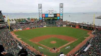 AT&T Park, section: 315, row: 8, seat: 18