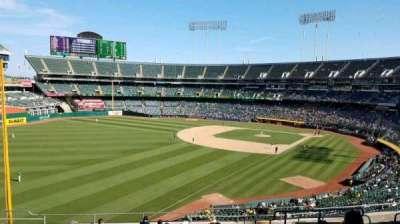Oakland Coliseum section 230