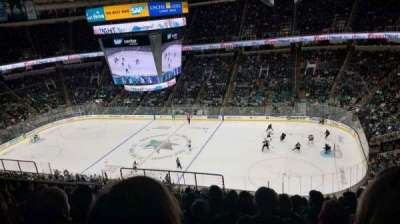 SAP Center, section: 227, row: 13, seat: 18