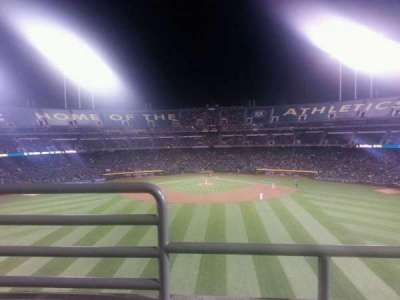 Oakland Alameda Coliseum, section: 241, row: 2, seat: 16
