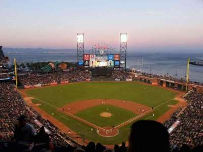 AT&T Park, section: 315, row: 13, seat: 17