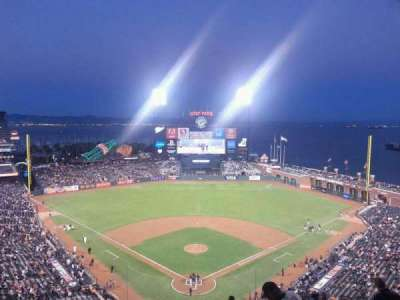 AT&T Park, section: 315, row: 12, seat: 7