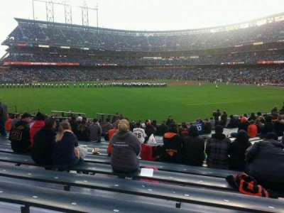 AT&T Park, section: 142, row: 18, seat: 9