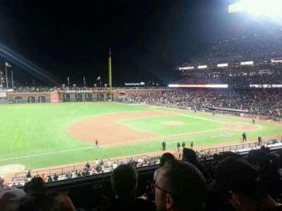 AT&T Park, section: 225, row: D, seat: 16