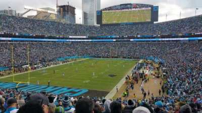 Bank of America Stadium, section: 254, row: 16, seat: 11