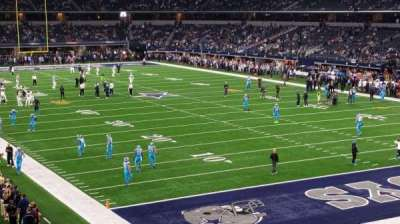 AT&T Stadium, section: 201, row: 1, seat: 24