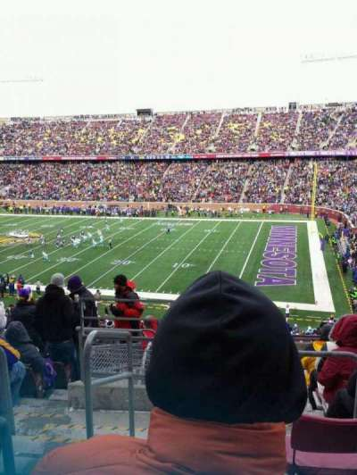 TCF Bank Stadium section 235