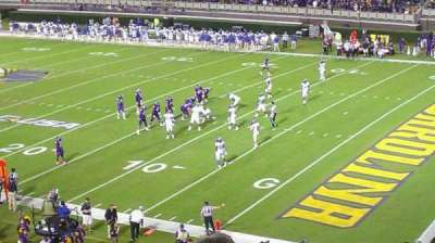 Dowdy-Ficklen Stadium, section: 2, row: 12, seat: 6
