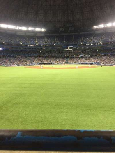 Rogers Centre, section: 142R, row: 1, seat: 5