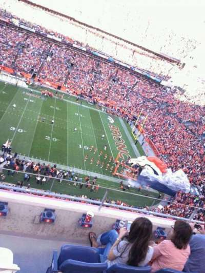 Sports Authority Field at Mile High, section: 506, row: 4, seat: 9