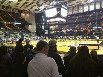 Memorial Gymnasium (Vanderbilt), section: G, row: 23, seat: 8