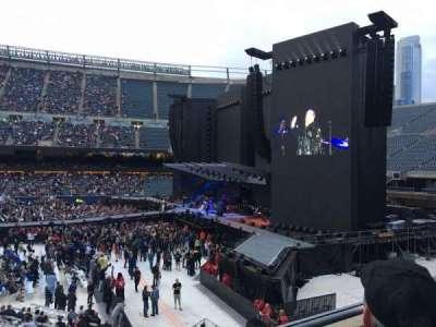 Soldier Field section 206