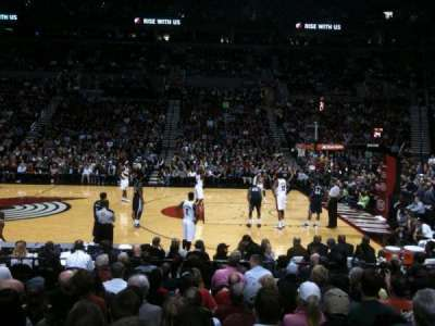 Moda Center section 122