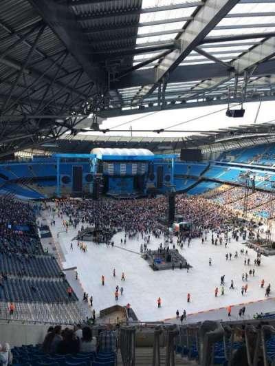 Etihad Stadium (Manchester), section: 318, row: AA, seat: 516