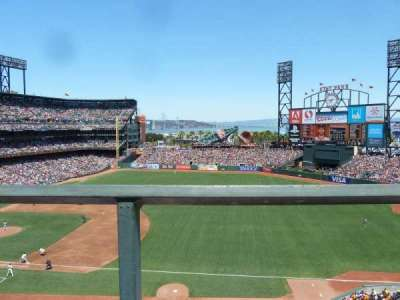 AT&T Park, section: 304, row: A, seat: 15