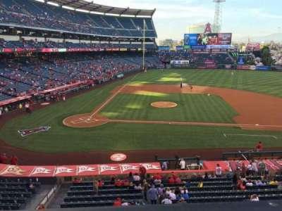 Angel Stadium, section: C333, row: A, seat: 1