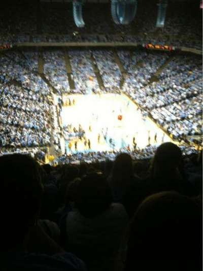 Dean Dome, section: 216, row: P, seat: 14