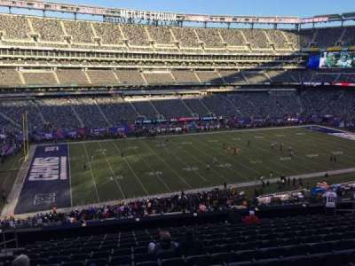 MetLife Stadium, section: 242, row: 13