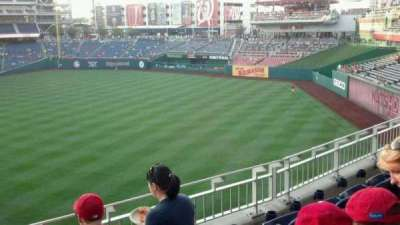 Nationals Park, section: 233, row: D, seat: 16