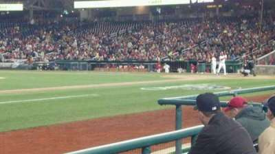 Nationals Park, section: 114, row: D, seat: 4