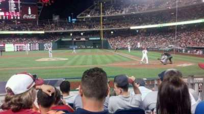 Nationals Park, section: 118, row: K, seat: 7