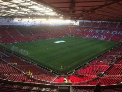 Old Trafford, section: NE, row: TT, seat: 150