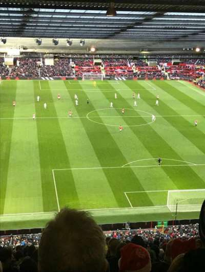 Old Trafford, section: W3102, row: 34, seat: 154