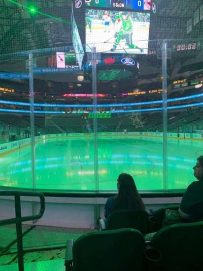 American Airlines Center, section: 113, row: C, seat: 1