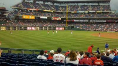 Citizens bank park  section 138